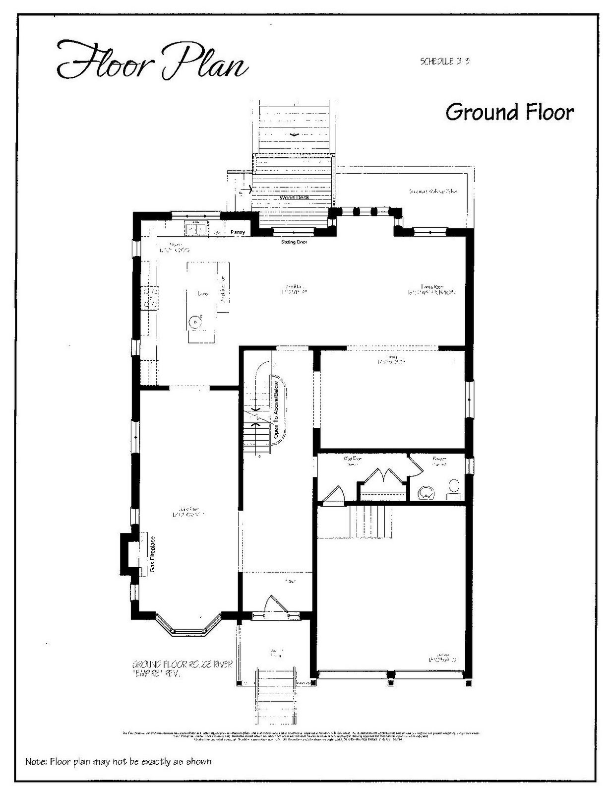 Design maze sarah 39 s house 4 buy from plan living room for Richardson homes floor plans