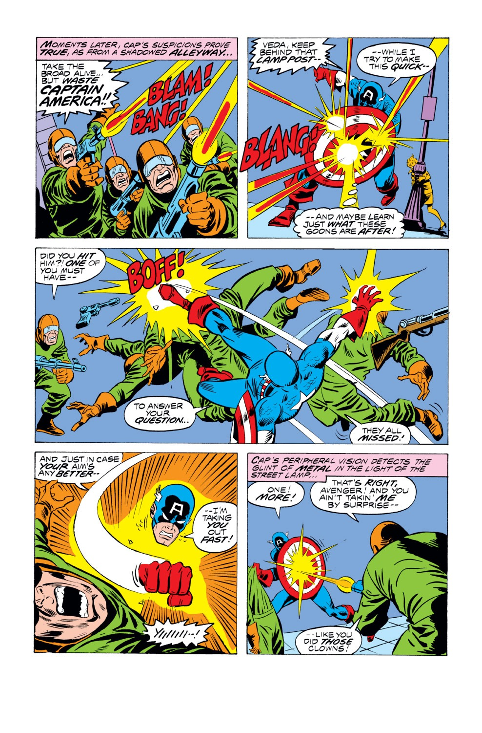 Captain America (1968) Issue #218 #132 - English 3