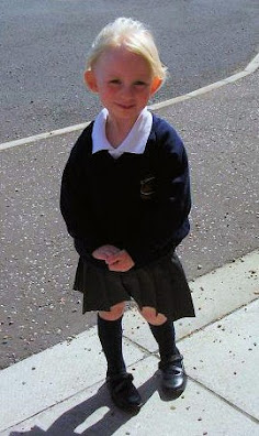 Aimee Kerrigan - First day at school