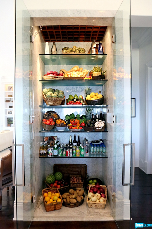 Yolanda Foster's Fridge