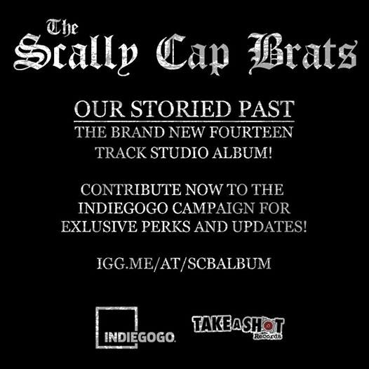 9de2defb6a4 THE SCALLY CAP BRATS NEED YOUR HELP TO RELEASE THEIR NEW ALBUM ...