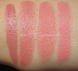 nars bolero swatches comparisons