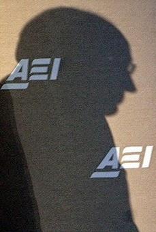 Dick Cheney at AEI, 2005.