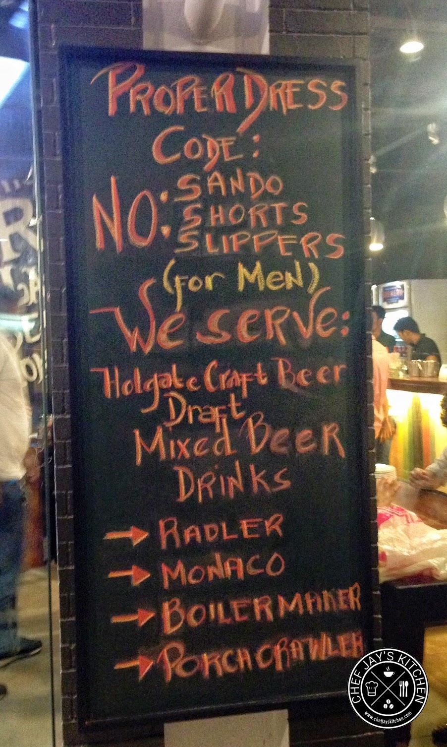 Brewery Gastropub Now Brewing in Iloilo City Dress Code
