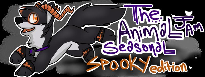 The Animal Jam Seasonal-Spooky Edition