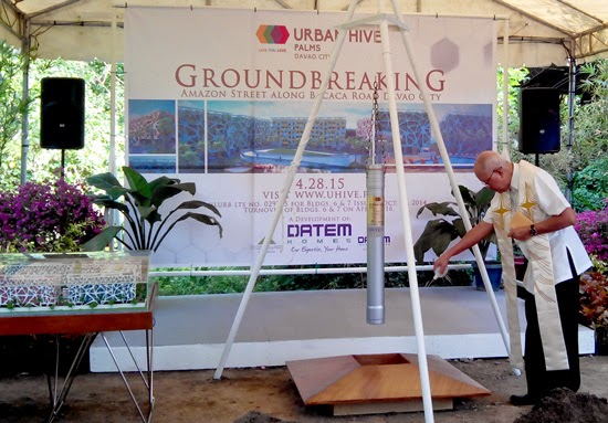 URBAN HIVE PALMS: Ground Breaking
