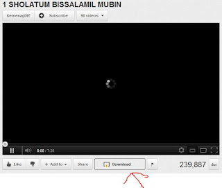 Downlod Video YouTube dengan mudah