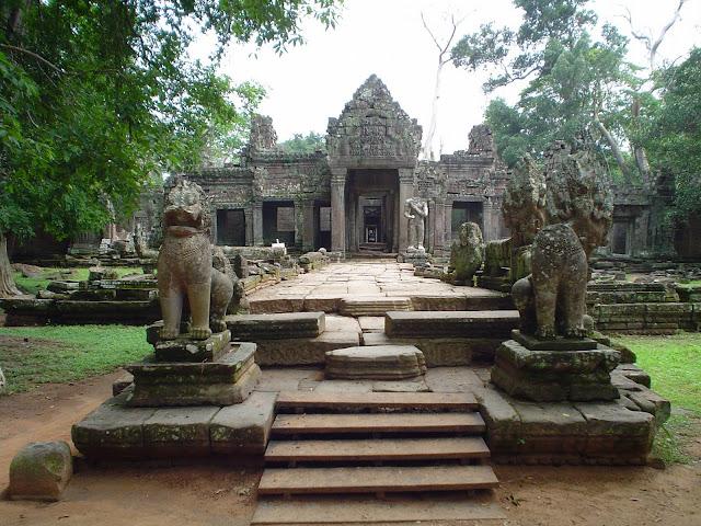 Entrada Templo Angkor Wat - Camboya