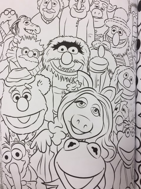muppets art of coloring now available muppet stuff