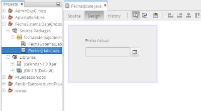 Obtener fecha del sistema y colocarlo en un JDateChooser Java