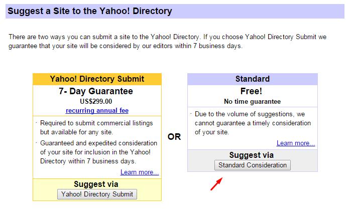 Yahoo! Directory