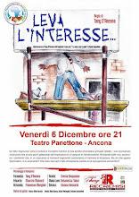 """La pagina di """"Leva l'interesse"""" (Lo vedo e non lo vedo) della Compagnia Tany d'Ancona"""