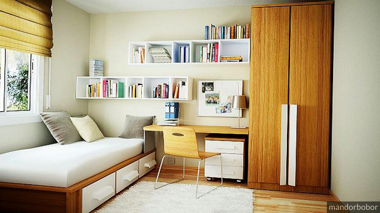 45 small and compact bedroom solutions neat homes home for Small bedroom furniture solutions