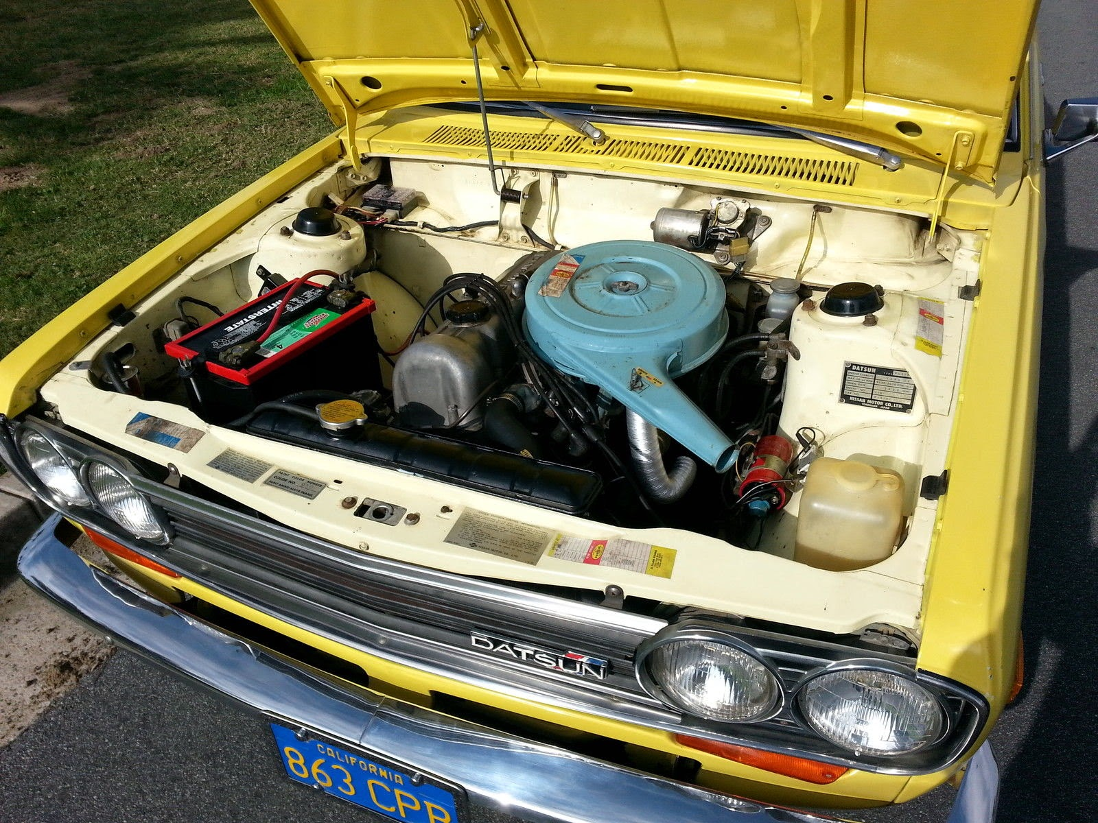 Daily Turismo 15k Yellow Fever 1971 Datsun 510 Bluebird