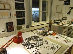 Blick aus dem Atelier