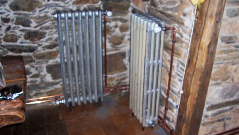 Fontaneros en ponferrada alira bierzo - Instalacion calefaccion radiadores ...