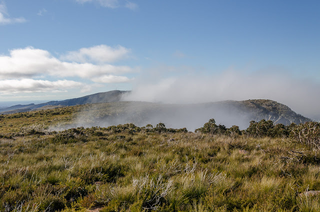 low cloud across major mitchell plateau