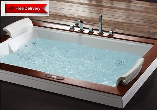 Massage Bathtub Model U262AC By Aquapeutics