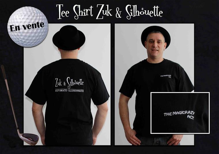 Tee-Shirt Zuk et Silhouette en vente