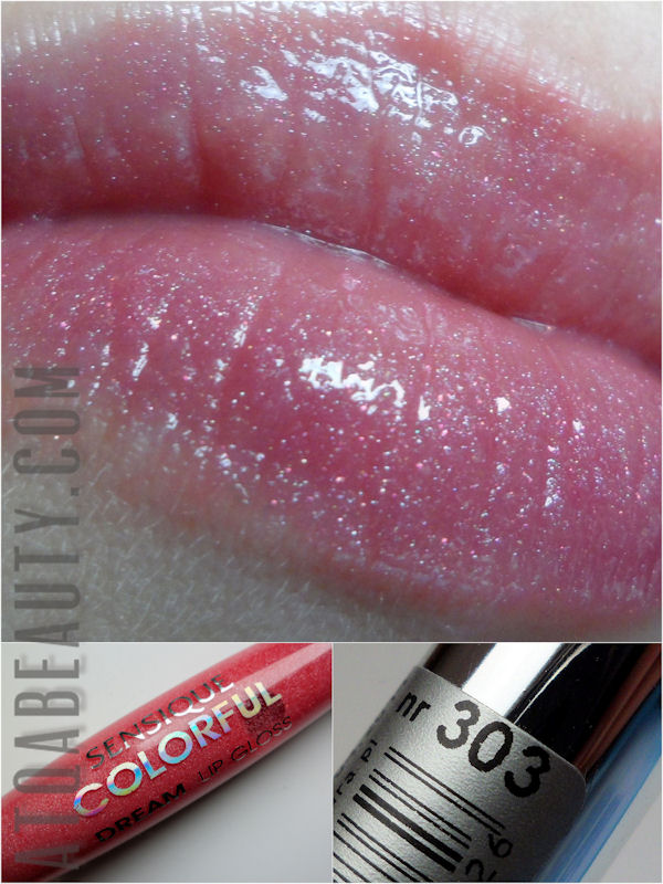 Sensique, Colorful Dream Lip Gloss, 303