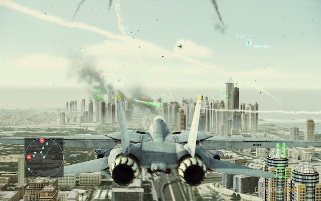 Ace Combat Assault Horizon Enhanced Edition Screenshots