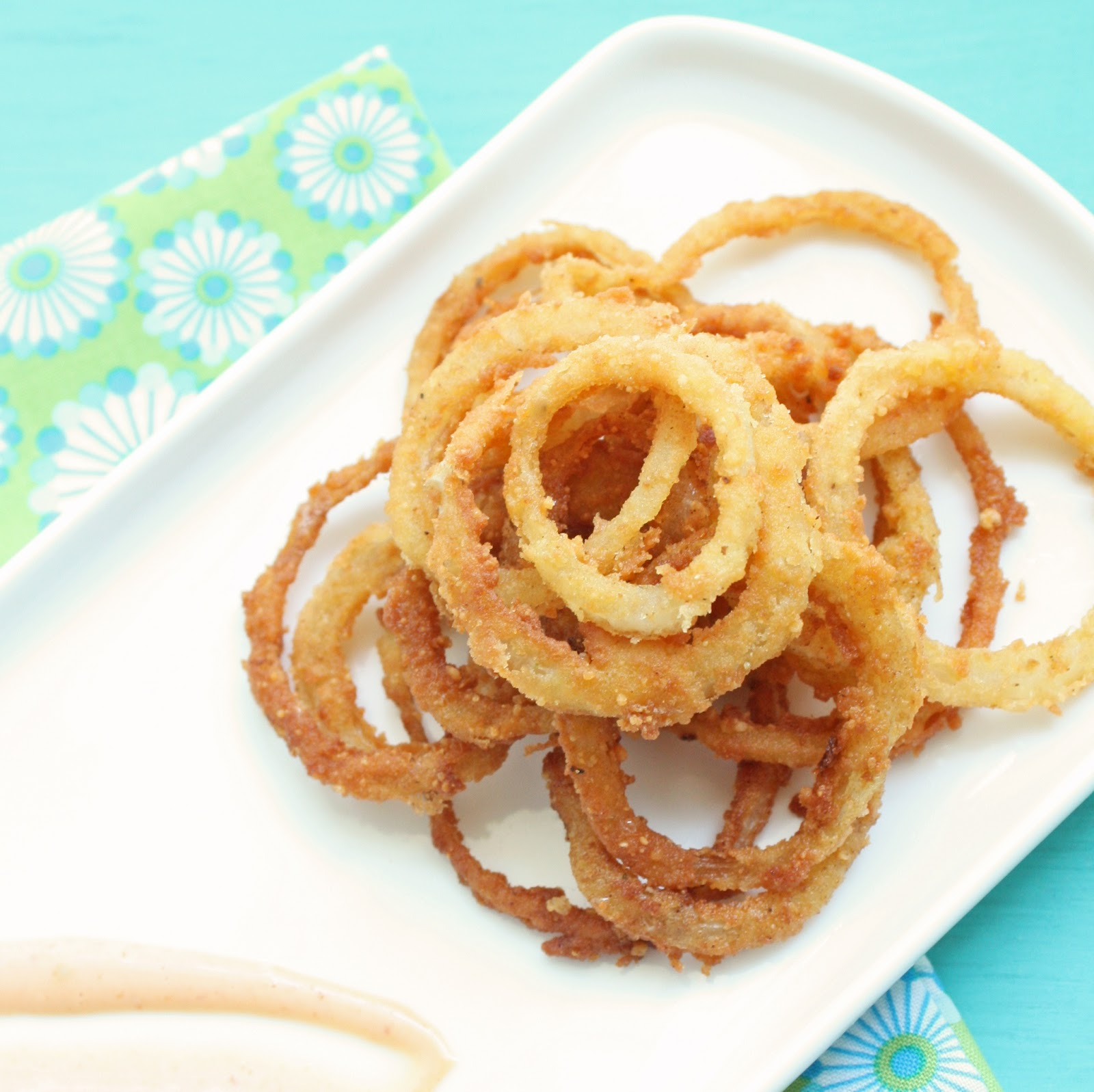These low carb onion rings are super easy to make.