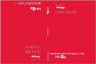 LG G2 Manual Cover