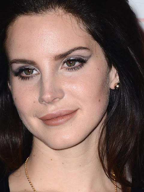 maquilhagem european music awards mtv, Lana Del Rey