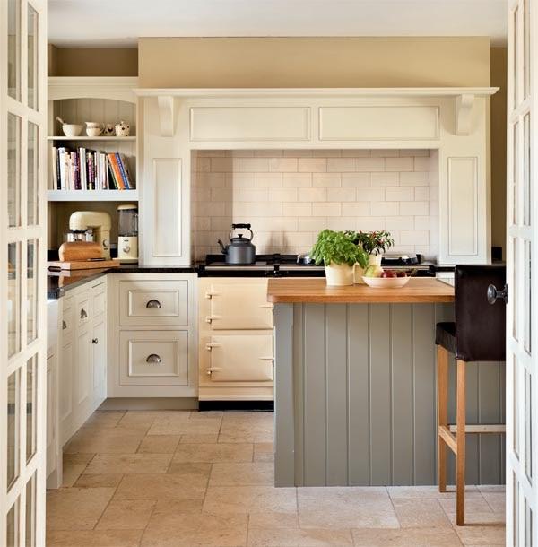 Cottage Kitchen Cabinets: Cottage Style Kitchen