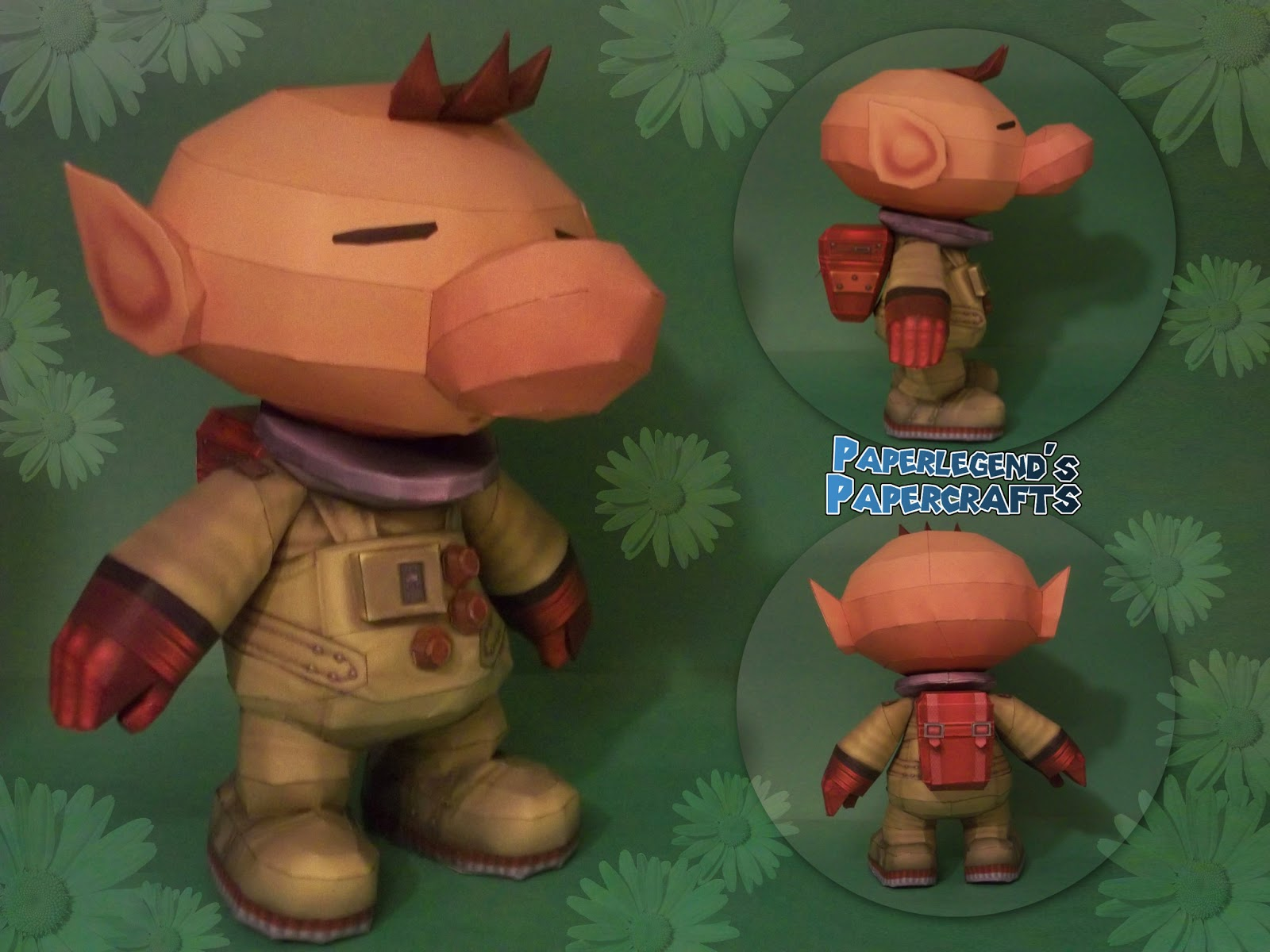 Captain Olimar Papercraft