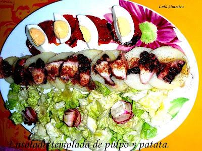 Ensalada Templada De Pulpo A La Gallega Y Patatas