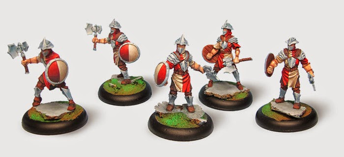 Drakerys 32mm Skirmish Game interview troops