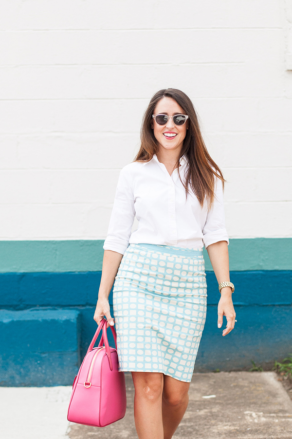 Here&Now: classic white button down