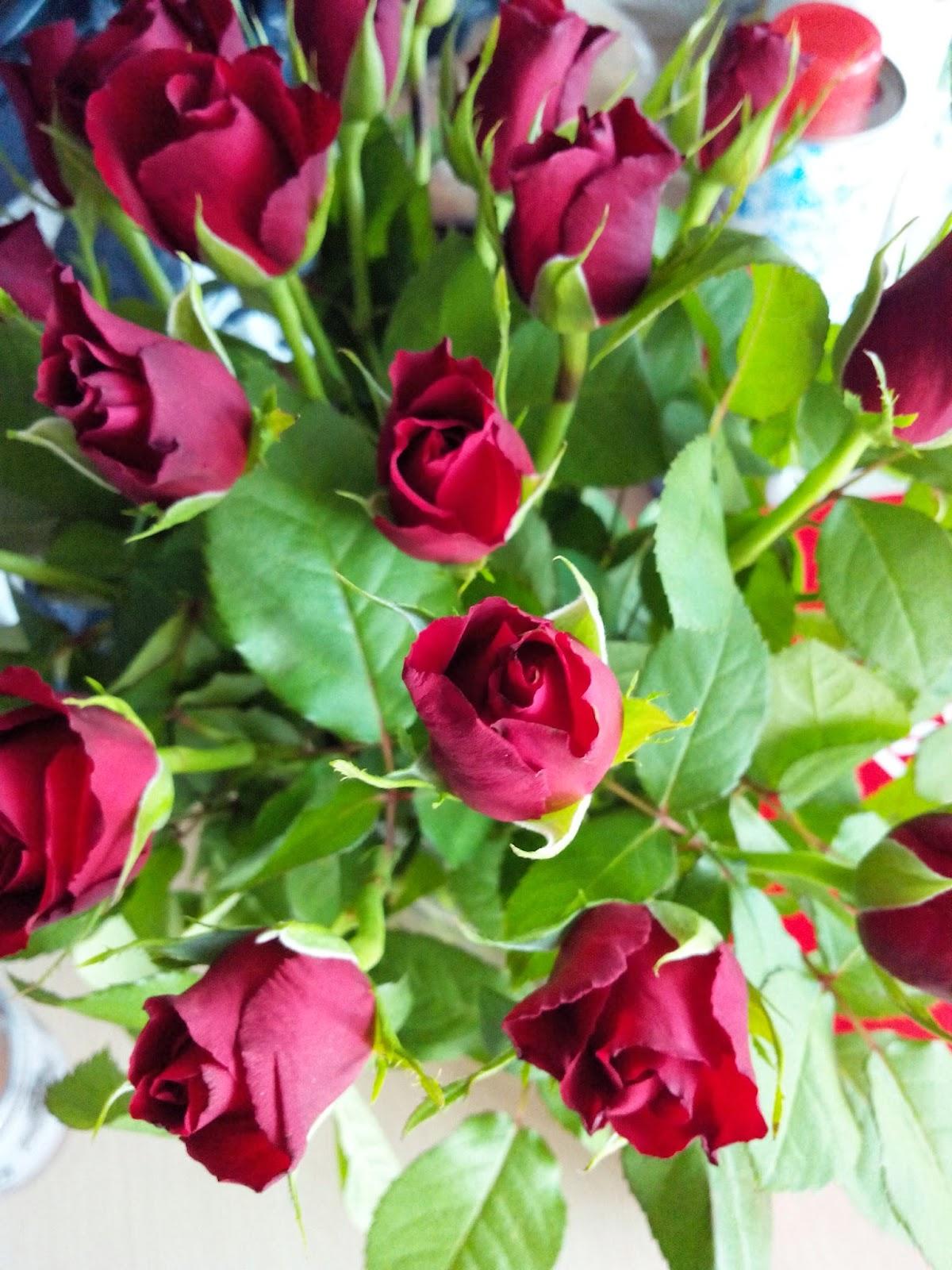 fleurs, rose, bouquet, bullelodie