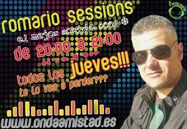 "PROGRAMA:""ROMARIO SESSIONS""(SONIDO COOL)"