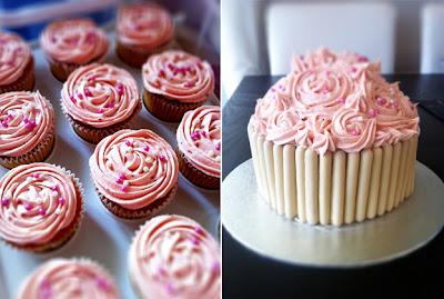 Giant Cupcake Cake recipe