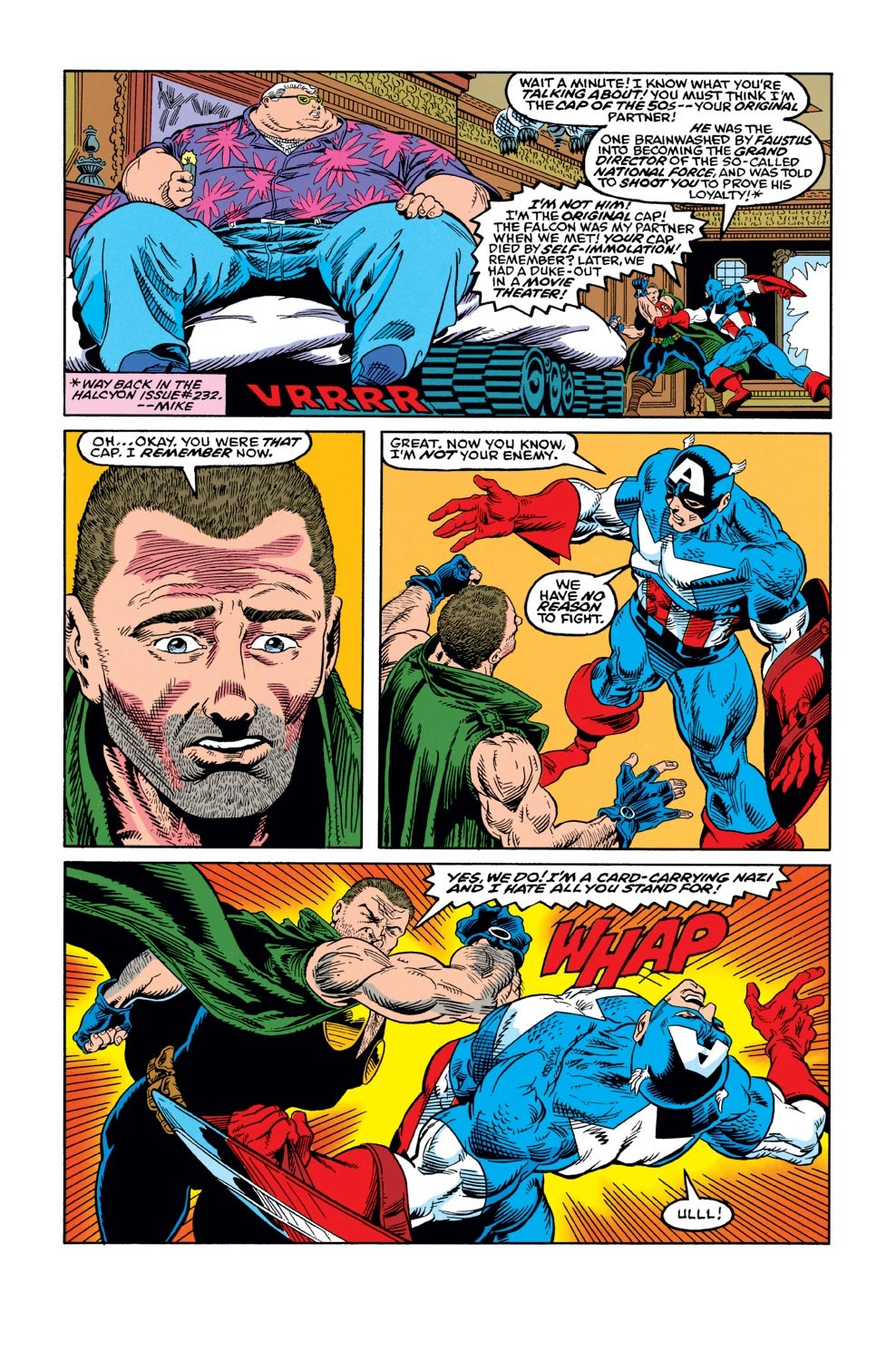 Captain America (1968) Issue #421 #371 - English 16