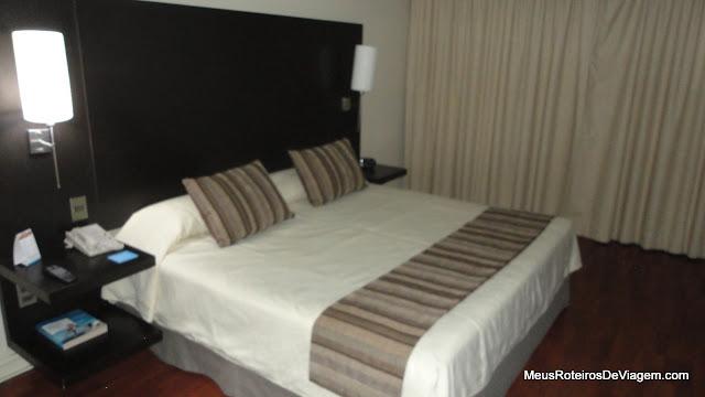 Quarto do hotel NH Ciudad de Santiago