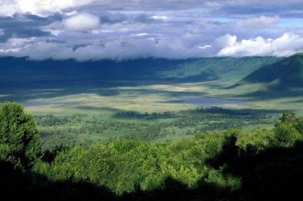 The Ngorongoro Conservation Area in Tanzania