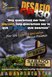 Cartel Desafío GR130 (AÑO 2013)