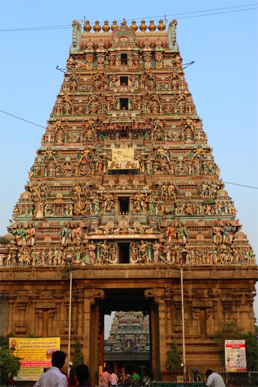 Temples of Chennai Kapaleeshwarar ancient Mylapore gopuram