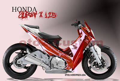modifikasi supra x 125