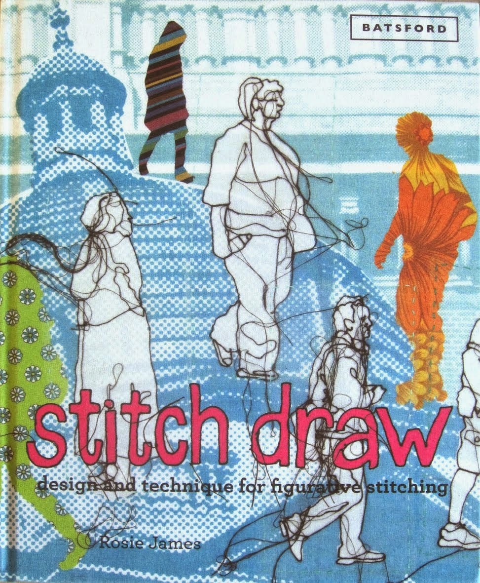 Stitch Draw the book.