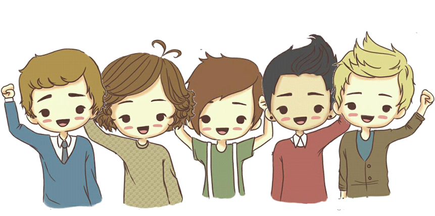 Daniela Orellana Taipe: One Direction Caricaturas