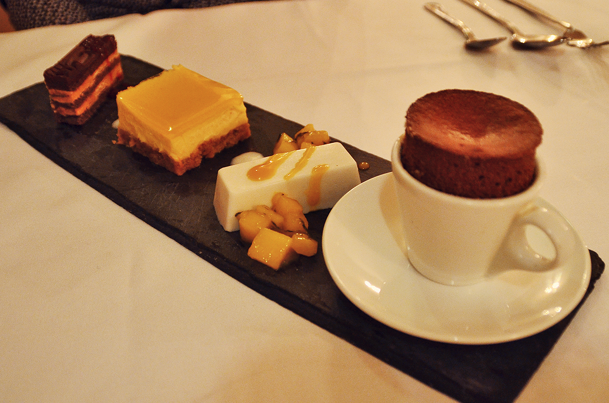 Restaurant Review, Ox Pasture Hall, Assortment of Desserts