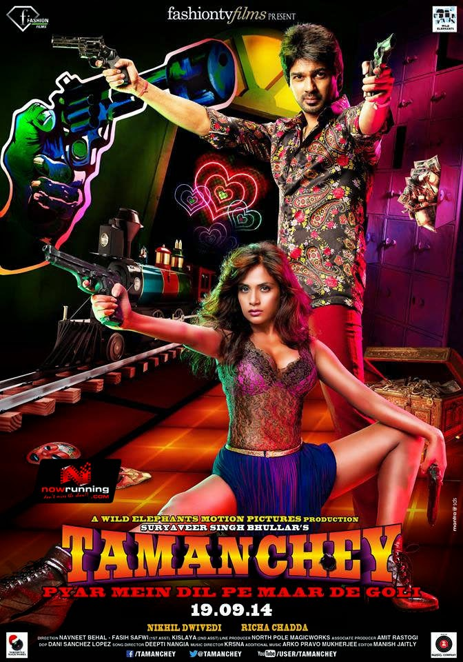 Tamanchey - Movie Poster First Look by FashionTv Films