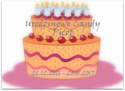 Urodzinowe candy Picot