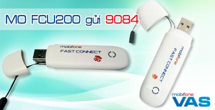 Đăng ký 3G Fast Connect gói cước FCU200 của Mobifone