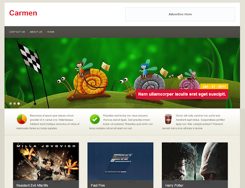 Carmen Blogger Theme