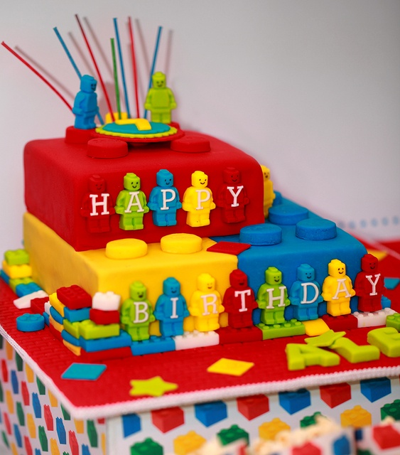 Silly Happy Sweet Lego Birthday Party Ideas